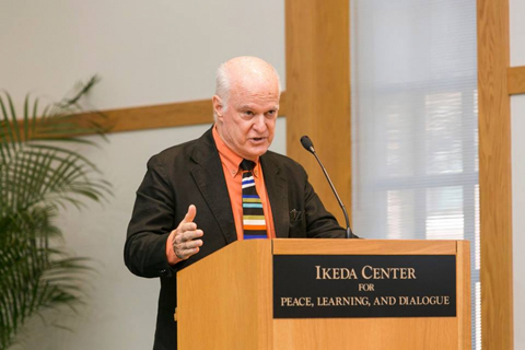 Charlie Clements at 2014 Ikeda Forum