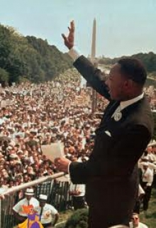 Dr. King at the March on Washington