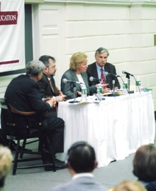 HGSE Panel with Sizer, Joffee, Noddings, and Hickman