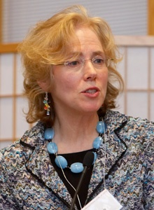 Virginia Straus Benson at the Ikeda Center, Cambridge, MA